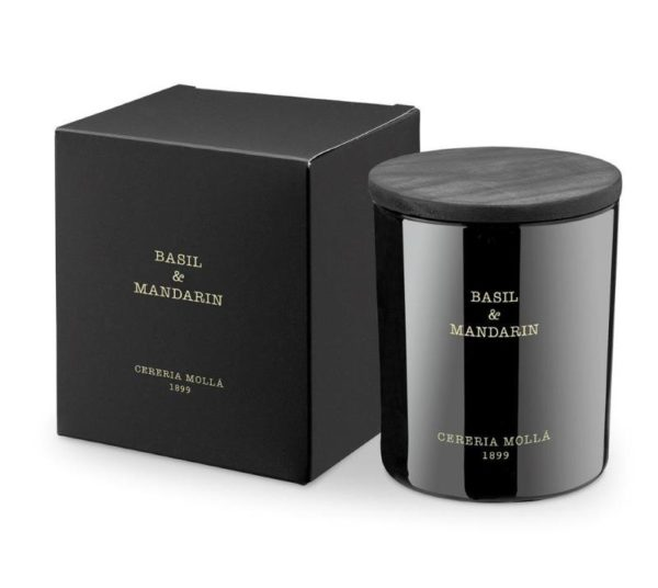 Molla Basil & Mandarin candle