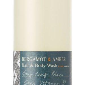 Bath House Bergamot Amber Shower Gel