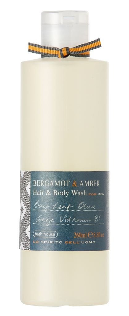 Bath House Bergamot Amber Shower Gel