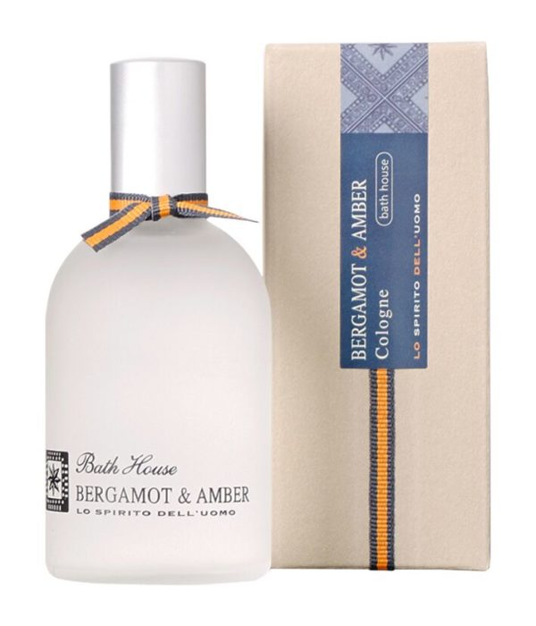 Bath House Bergamot Amber Cologne