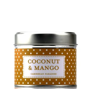 Country candle coconut mango