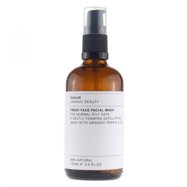 Evolve organic beauty fresh facial wash