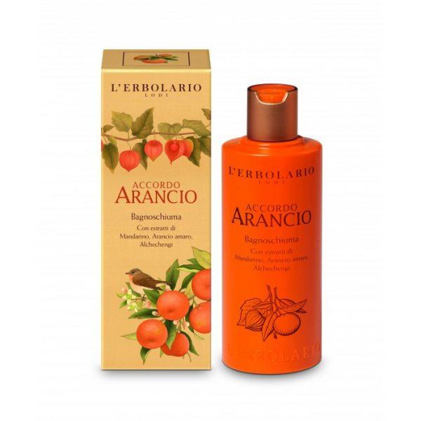 erbolario Accordo Arancio Bade Duschgel shower