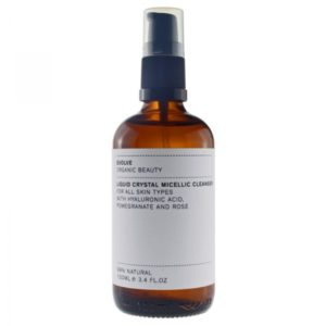 evolve organic beauty daily liquid crystal micellic cleanser