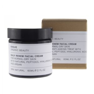 evolve organic beauty daily renew facial cream
